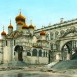 Благовещенский собор Кремля и Красное крыльцо