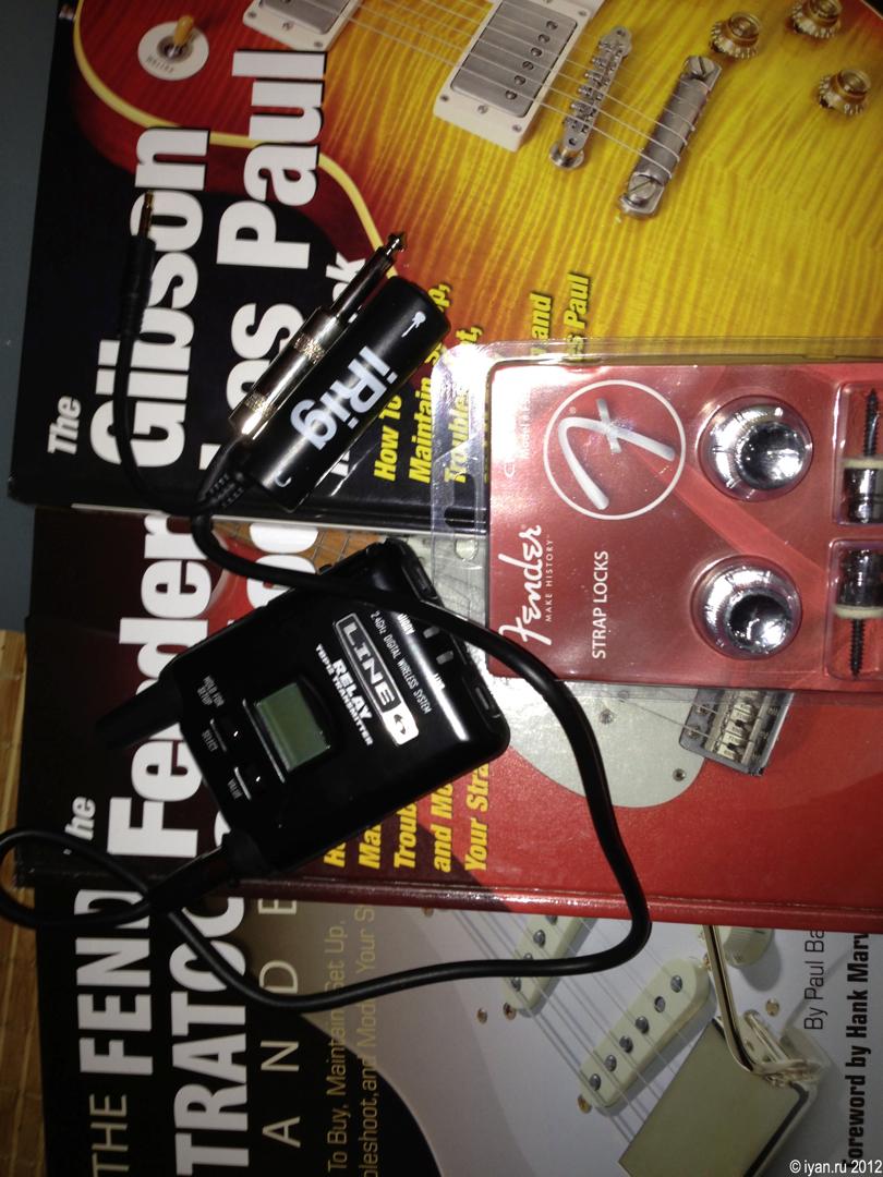 Gutar Wireless System, iRg, Guitar Books