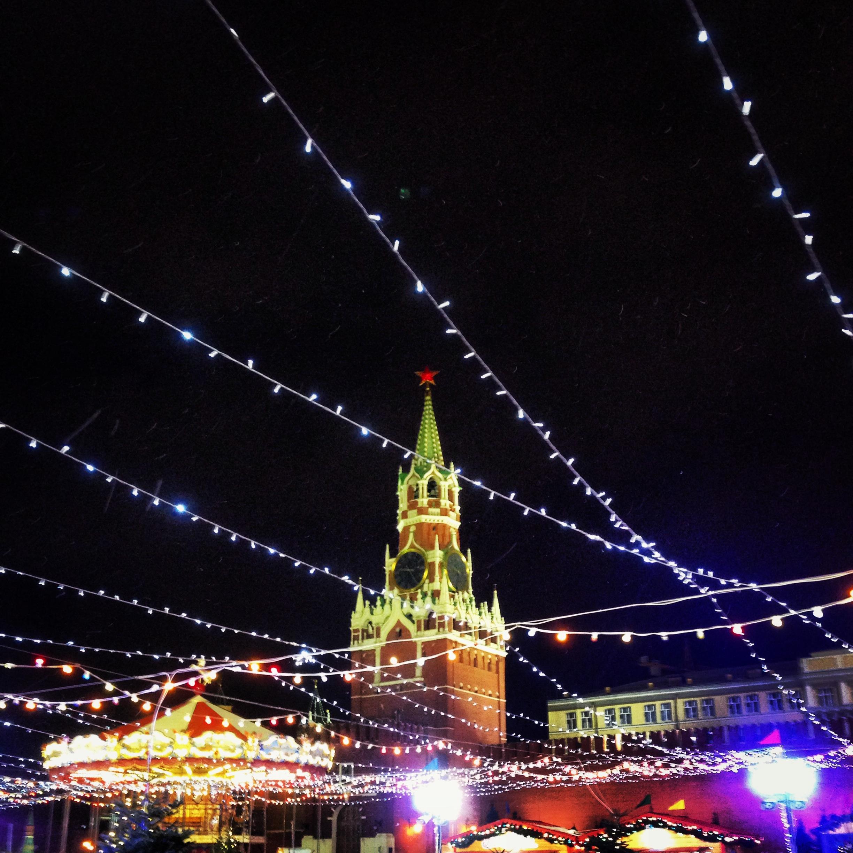 Ярмарка ГУМа на Красной площади