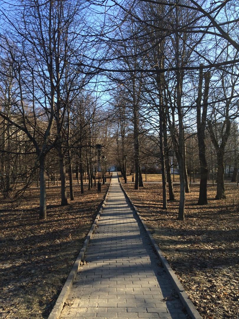 Екатерининский парк - весна 2016