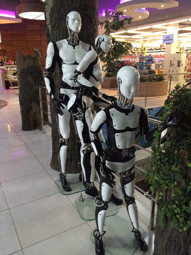 Планета Железяка - роботы